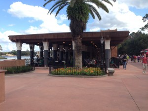 Spice Road Table is located on the lagoon side of the Morocco pavilion