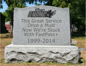 Rest In Peace, original FASTPASS®