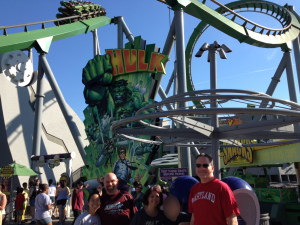 Incredible Hulk group shot.