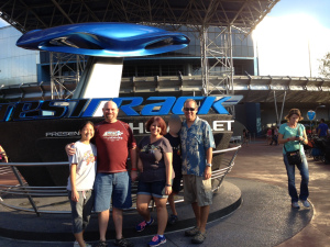 group shot Test Track