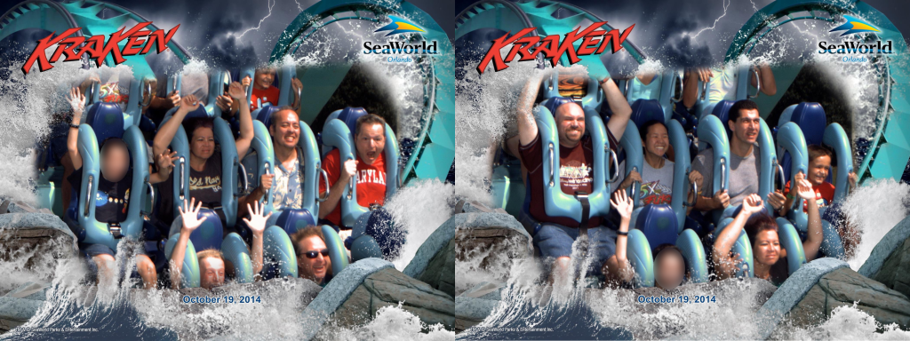 on-ride Kraken photos.