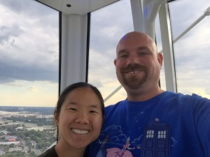 A four-hundred feet selfie is not something you can take every day.  Well, *we* can, now...