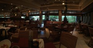 It's shocking how empty this restaurant was